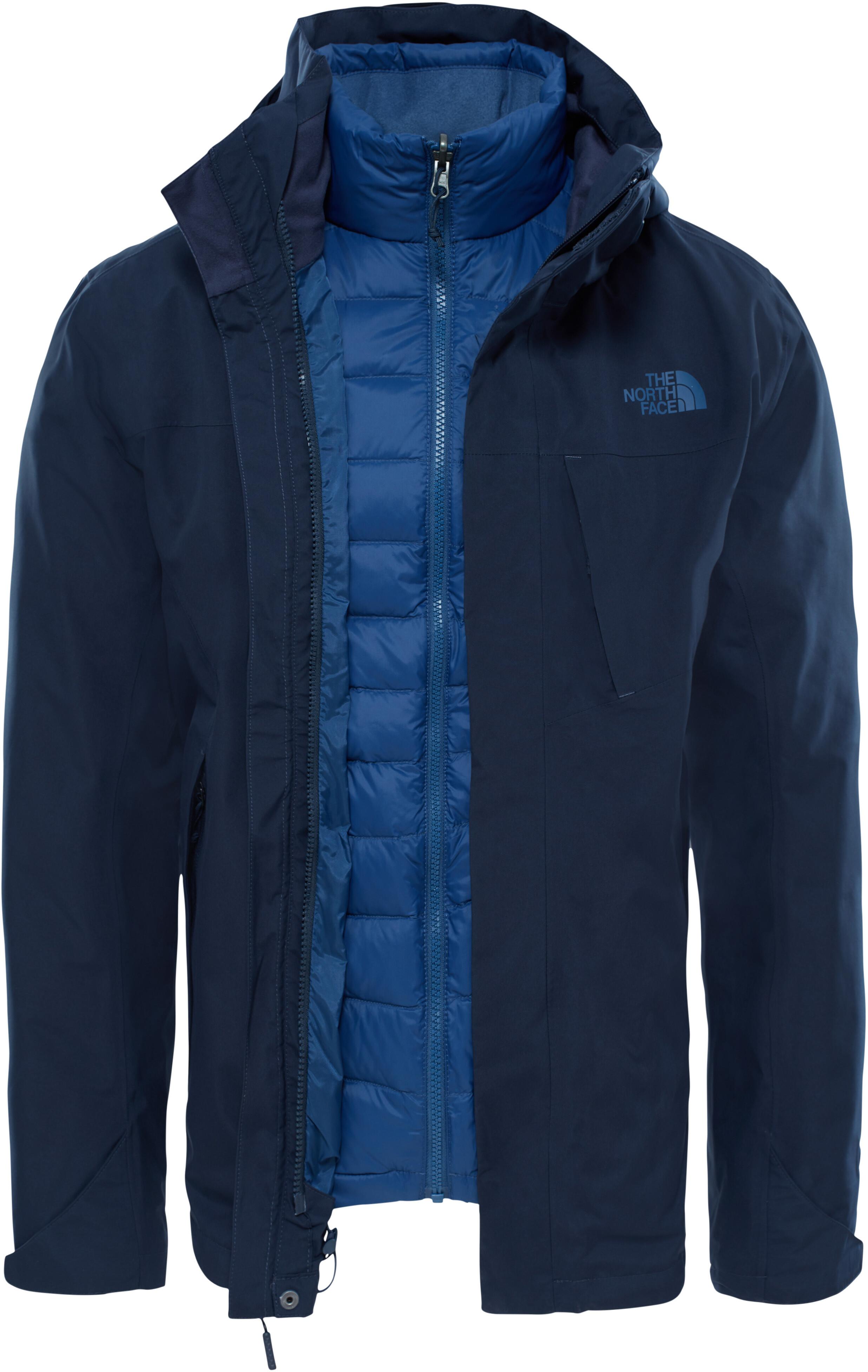 the north face mountain light veste homme bleu sur campz. Black Bedroom Furniture Sets. Home Design Ideas